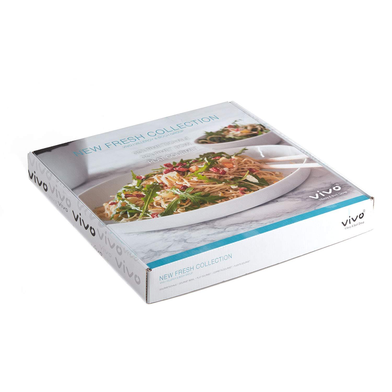 Vivo New Fresh Collection Gourmetschale Teller Porzellanteller Pozellanschale