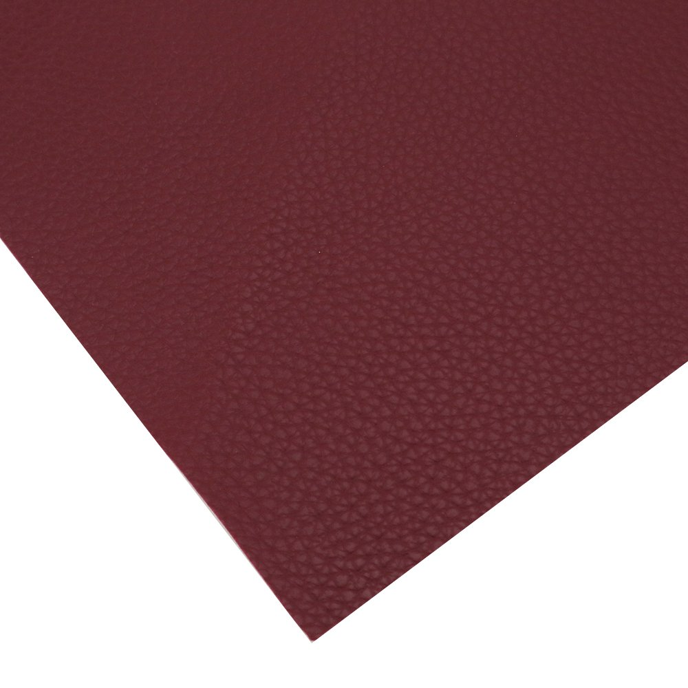 David accessories Solid Color PU Leather Fabric Plain Litchi Fabric Cotton Back 10 pcs 8'' x 13'' (20cm x 34cm) for Making Bags Craft DIY Sewing Assorted Colors (Dark Color) by David accessories (Image #3)