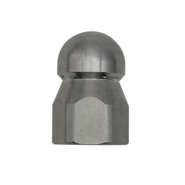 1/2 1/4 3/8 1/8 buse de nettoyeur haute pression - 250bar Filetage interne - nettoyeur pour toilette / égouts / Tuyau (1/4) Yisheng