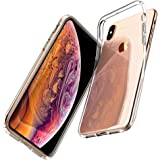 Spigen Liquid Crystal Designed for Apple iPhone Xs Case (2018) / Designed for Apple iPhone X Case (2017) - Crystal Clear