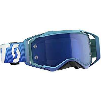 Scott Unisex-Adult Goggle (Blu/Wht, one_size): Automotive