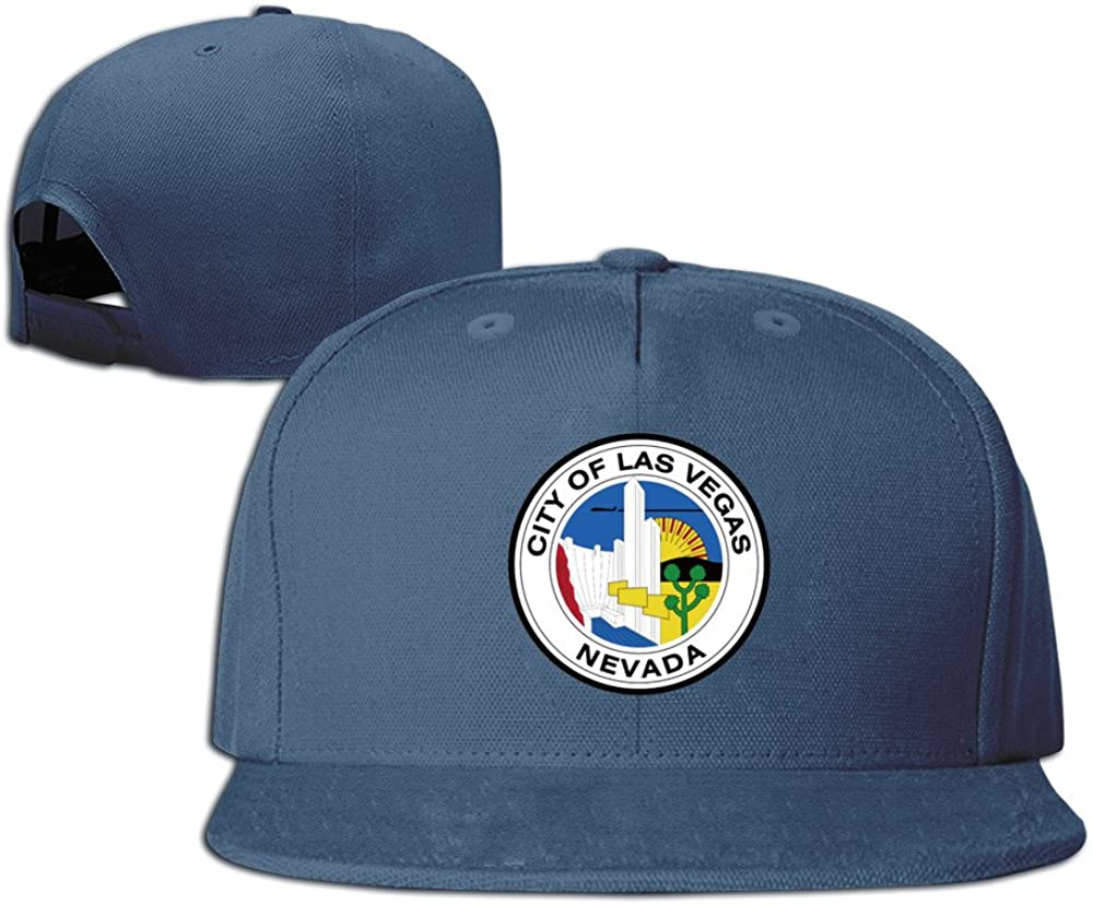 Seal of Las Vegas Adjustable Six-Panel Baseball Cap