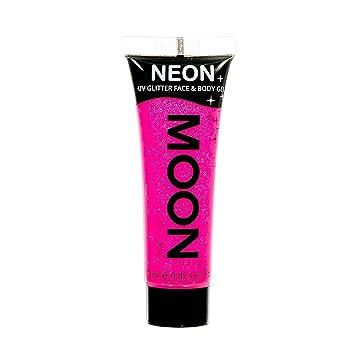 985bc8ae5b Amazon.com  Moon Glow - Neon UV Glitter Face   Body Gel - 0.42oz Hot ...