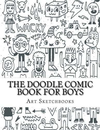 The Doodle Comic Book for Boys (Activity Drawing & Coloring Books)
