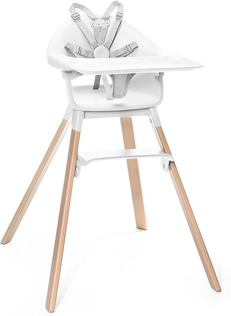 STOKKE® Clikk™ - Trona de madera con arnés y bandeja │ Silla de ...