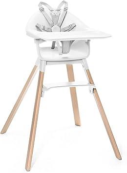 Stokke Clikk - Trona de madera con arnés y bandeja │ Silla de ...