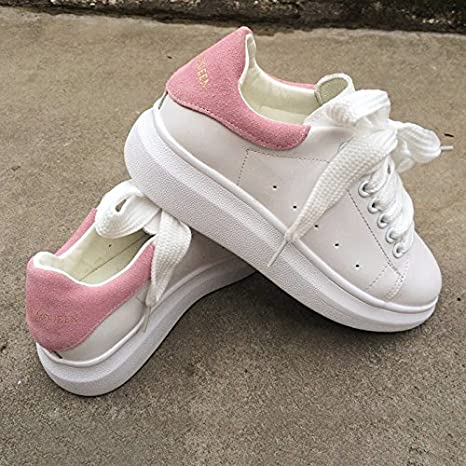 Amazon.com   MEIREN women s shoes with small moving white shoes ... 0d8a28262