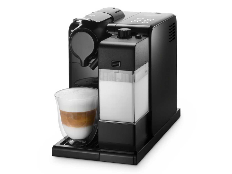 Nespresso EN550.BM Lattissima Touch Automatic Coffee Machine, Matt Black