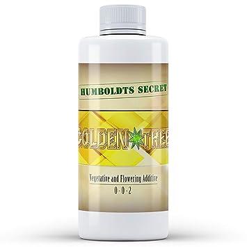 Humboldts Secret Golden tree- Suplemento acelerador crecimiento de plantas, 100% bio, 8 Ounce