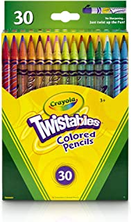 product image for Crayola Twistables Colored Pencils, 30 Count, Assorted Colors, Gift