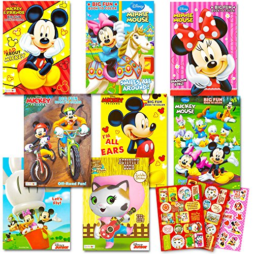Disney Coloring Toddlers Sticker Mickey product image