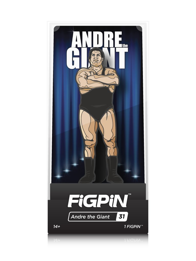 FiGPiN WWE Legends: Andre The Giant - Collectible Pin with Premium Display Case