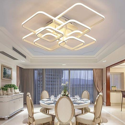 Amazon.com: HOUDES - Lámpara de techo de acrílico para salón ...