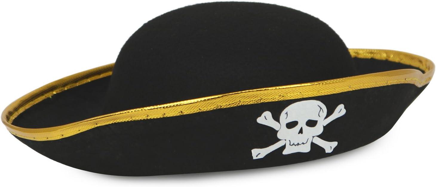 com-four® Juego de Accesorios I. para Disfraces de Piratas - Ideal ...