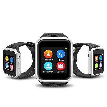 Amazon.com: Yuntab gd19s Bluetooth SmartWatch visualización ...