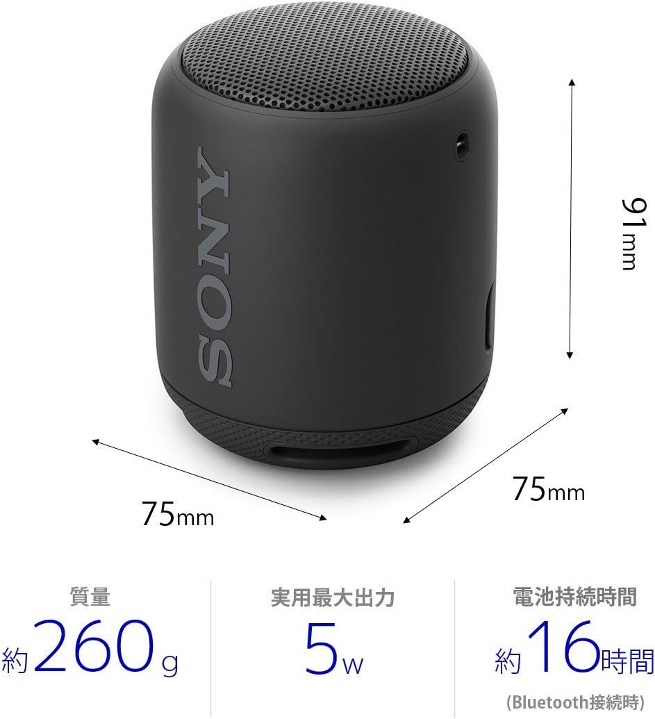ソニー SONY ワイヤレスポータブルスピーカー SRS-XB10