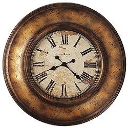 Howard Miller 625-540 Copper Bay Wall Clock, Copper