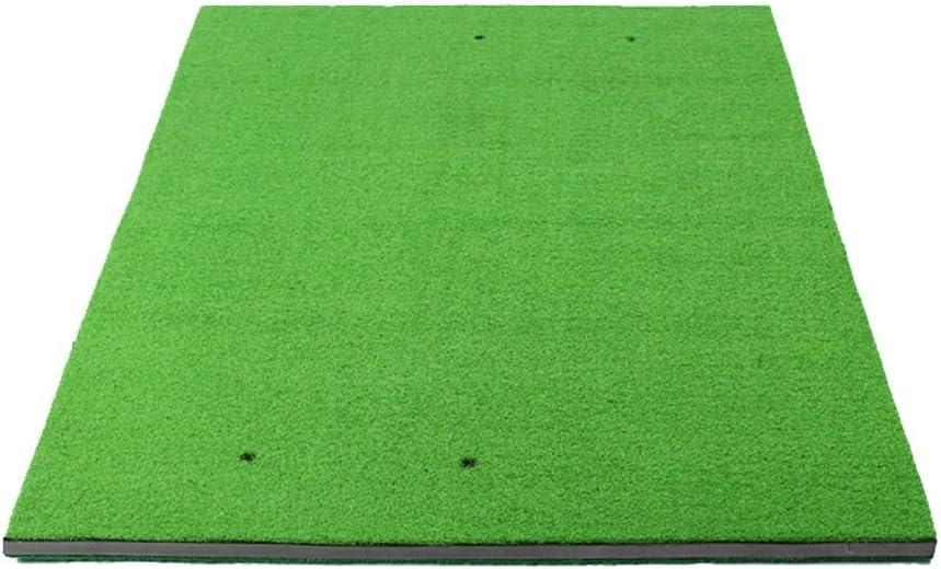 PMTXゴルフ - ゴルフ屋内練習用マット置き練習用マット100×150cmゴルフマット