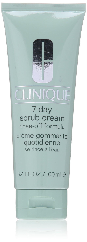 Clinique 7 Day Scrub Cream Rinse Off Formula for Unisex, 3.4 Ounce by Clinique