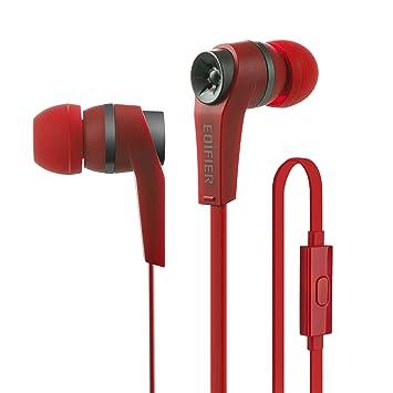Edifier P275 Cascos Auriculares In-Ear Con Micrófono y Control en Línea con Aislamiento de