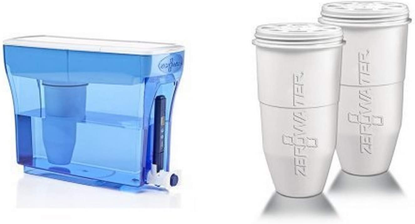 Amazon Com Zerowater 23 Cup Dispenser With Free Tds Meter Total