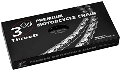 EK Motor Sport 520 Z 3D Premium Chain - 120 Links - Gold, Chain Application