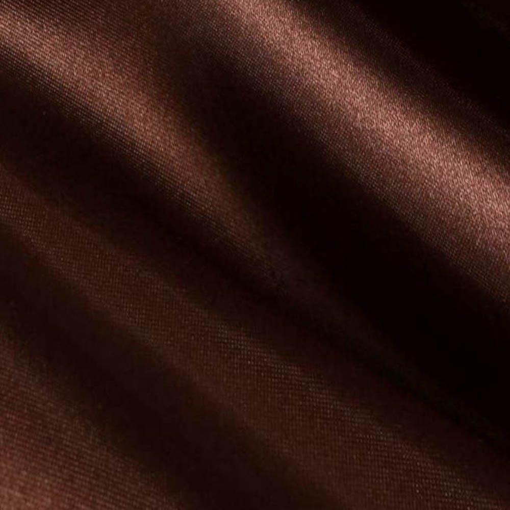 Brown Satin Fabric 60 Inch Wide - 10 Yards By Roll (FB) by Fabric Bravo   B00V0CIQGW