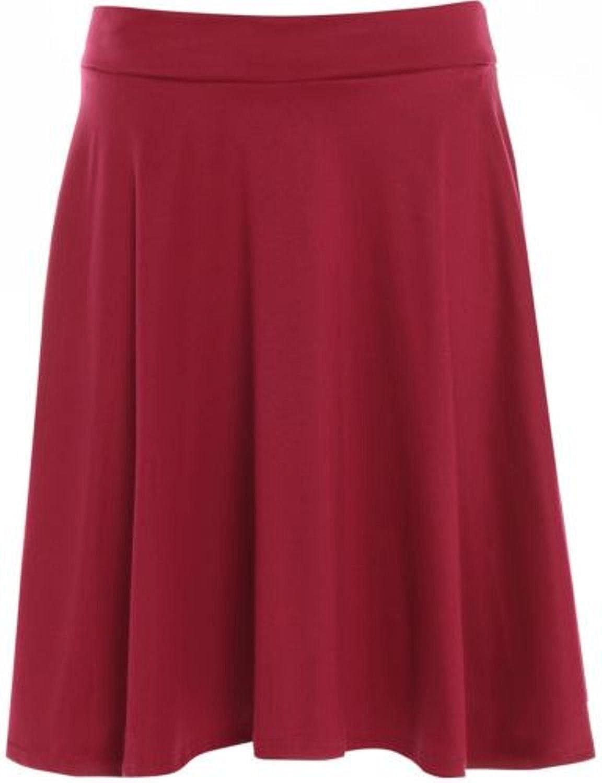 TALLA 48. Falda de vuelo para mujer, tallas grandes, sencilla, estilo patinadora, diseño de tartán, tallas 42 a 56