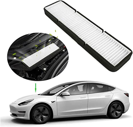 L U Luftfilter Intake Zubehör Ersatz Kompatibel Mit Tesla Model 3 1 Stück Weiß Küche Haushalt