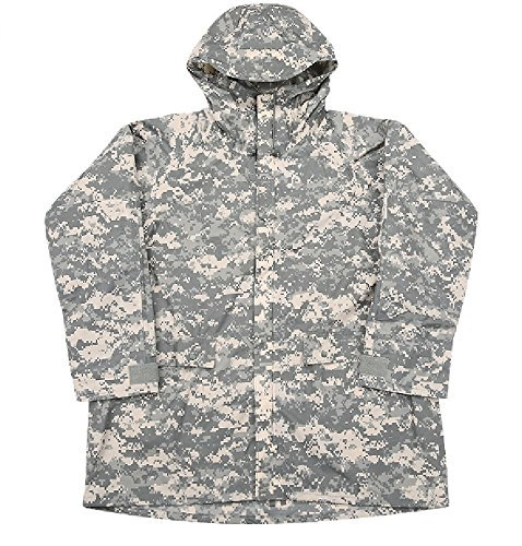 New ORC US Army Improved ACU Rainsuit Wet Weather Rain Jacket Parka Coat XXL 2XL 2X-Large NSN 8415-01-527-4618 (Acu Parka)