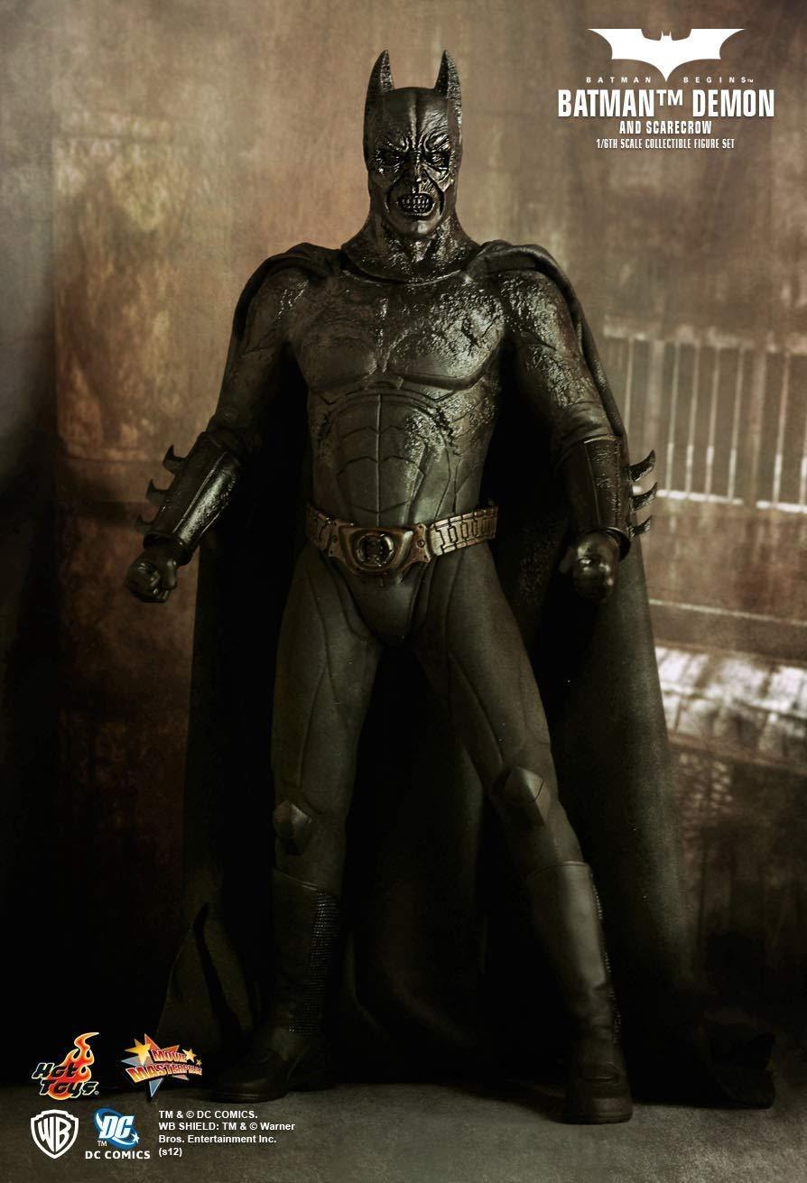precioso Hot Toys MMS140 - DC Comics - Batman Batman Batman Begins - Batman Demon & Scarecrow  envio rapido a ti