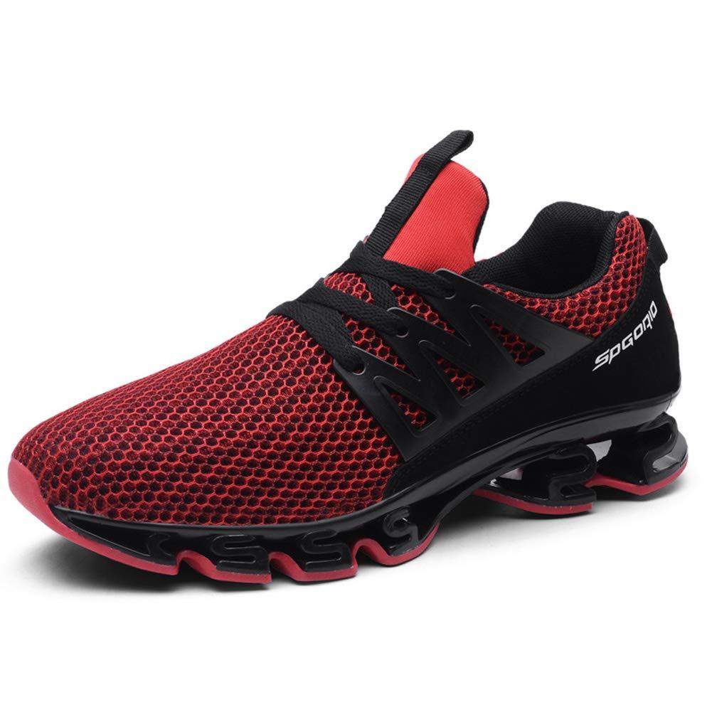 LFEU Männer Atmungsaktive Laufschuhe Frühling Sommer Outdoor Rasen Gehen Lässige Schuhe Gym Jogging Sport Training Turnschuhe