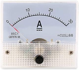 NAttnJf Amperometro analogico DC 30A Quadro amperometro analogico DC 30A Quadro amperometrico AMP 0-30A DC Non necessita di Shunt FG