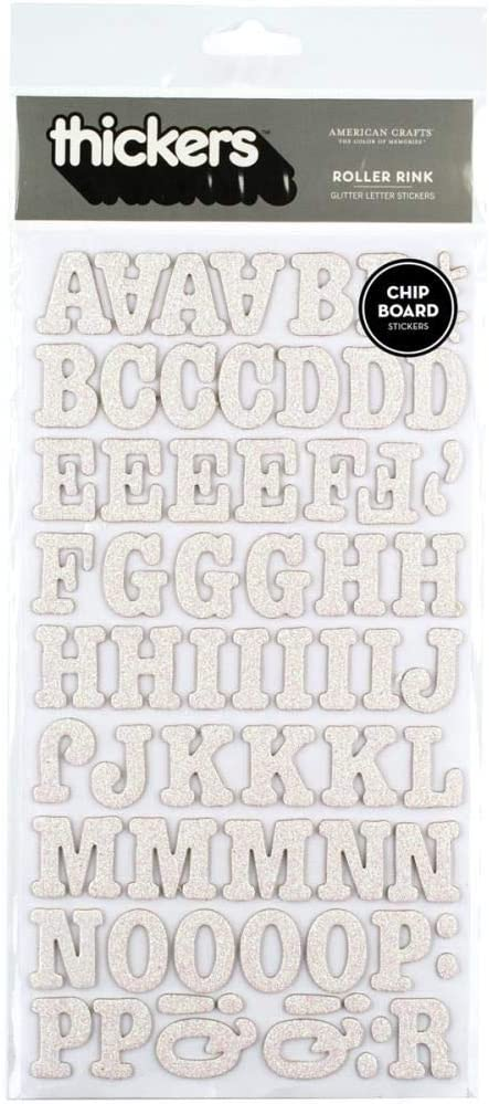 American Crafts Letter Stickers
