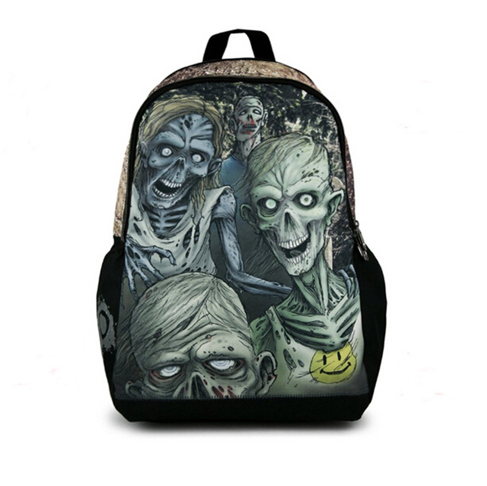 The Walking Dead Zombie Bag Backpack School Bag Luminous version best 9d522f34bb