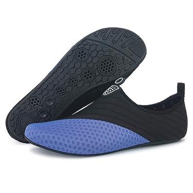 Mens Barefoot Quick-Dry Water Sports Shoes Aqua Socks For Swim Beach Pool Surf Men