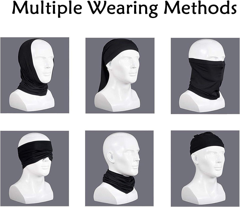 KuKiee Neck Gaiter Mask Protection Face Unisex Scarf Bandana for Outdoor Sports