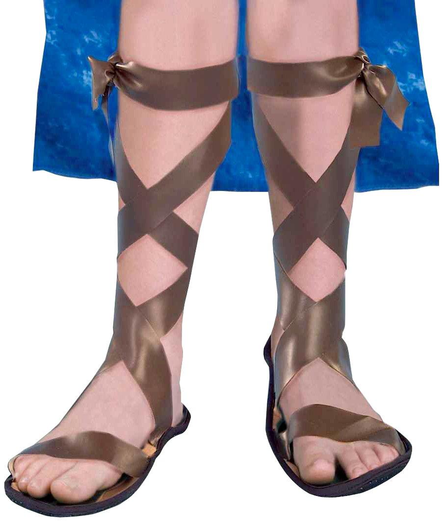 Forum Novelties Child Roman Sandals, As Shown, Large