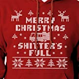 Merry Christmas Shitters Full Ugly Christmas Sweater Funny Hoodie Christmas Vacation Cross Stitch