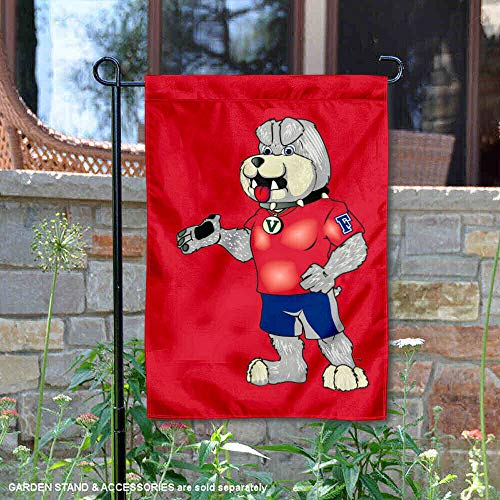 College Flags and Banners Co. Fresno State Bulldogs Victor E Bulldog Mascot Garden Flag