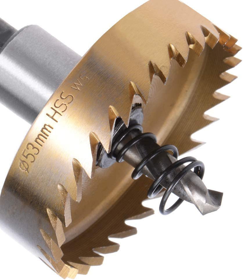 53 mm HSS drill high-speed stainless steel metal alloy drill saw