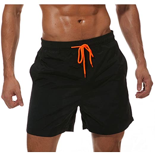 66177b0f953 ALL IN ONE CART Men's Quick Dry Swim Trunks Bathing Suit Beach Shorts  (Small/