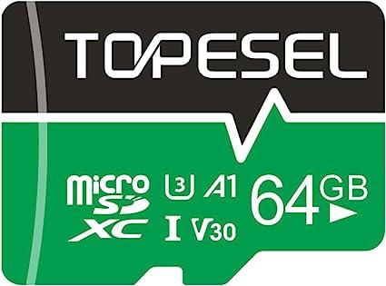 Micro Sd Karte 64gb Topesel Sd Karte Microsd Computer Zubehör