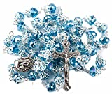 Unique Turquoise Crystal Beads Rosary Catholic Necklace Holy - Best Reviews Guide