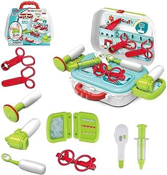 Amazon.com: Juego de juguetes para médicos de Wodtoizi para ...