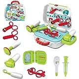 wodtoizi Kids Doctor Toy Pretend Play Dentist Set Doctor Toy Kit Medical Playset in Storage Box Boys Girls Toddler…