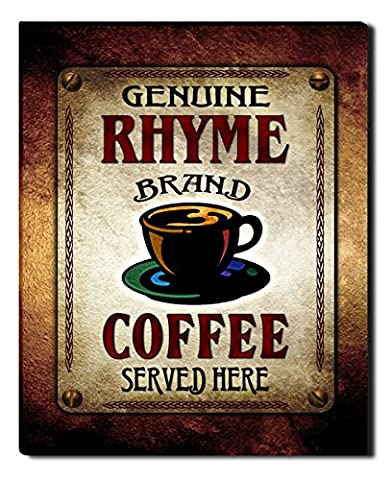 Rhyme's Coffee Gallery Wrapped Canvas Print (Cvs Rhymes)