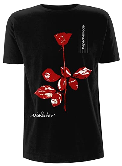 1f09ec16fc Plastic Head Depeche Mode  Violator Album Cover  T-Shirt Black   Amazon.co.uk  Clothing