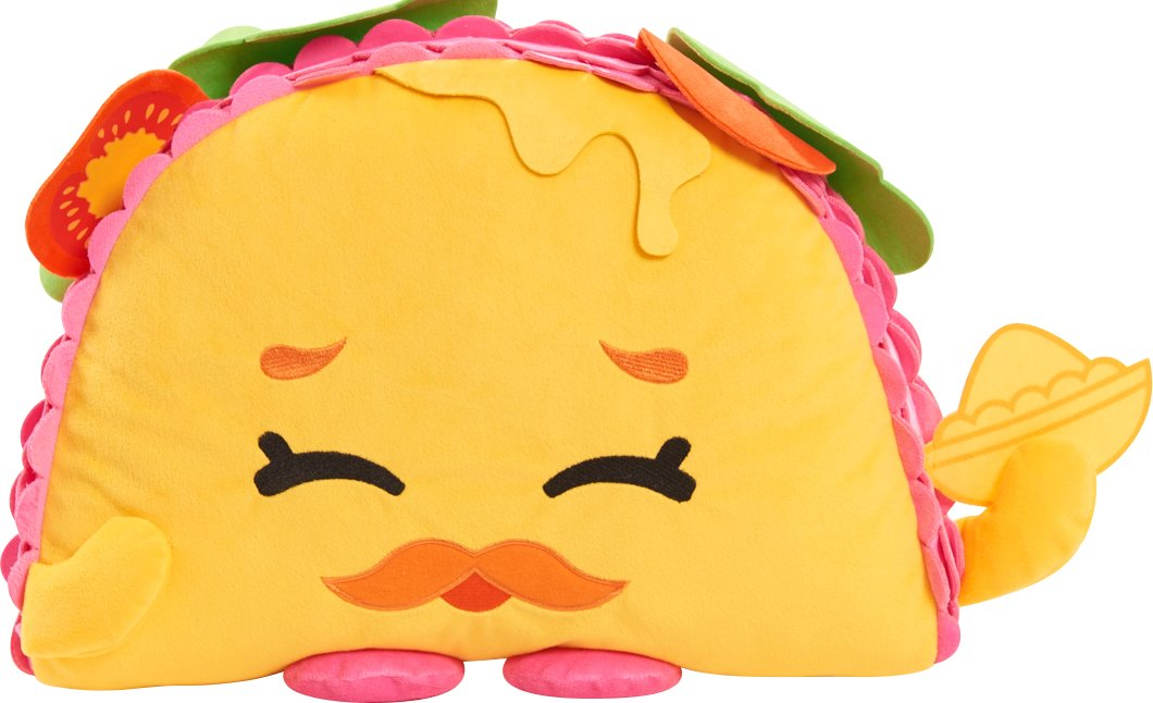 Just Play Shopkins Cuddle Plush Taco Terrie by Shopkins