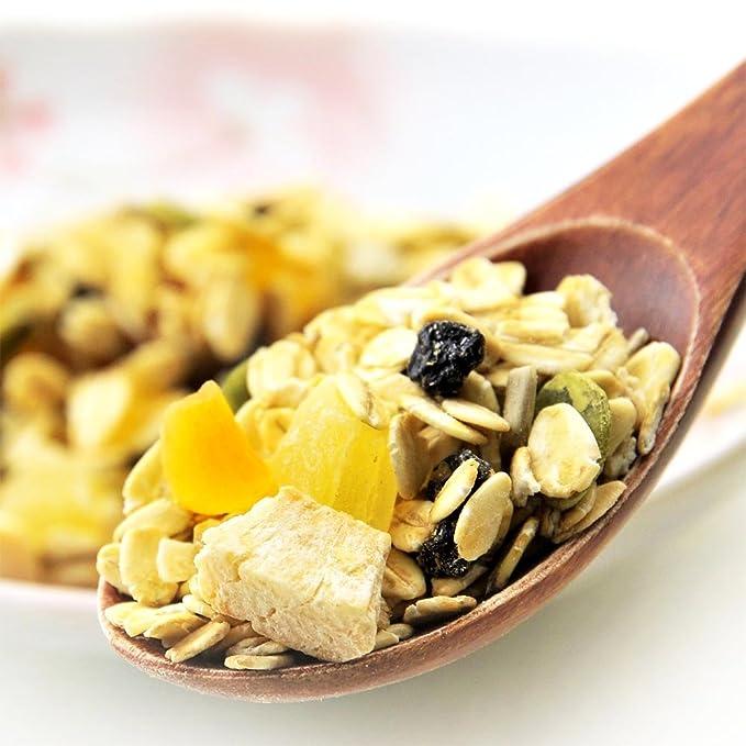 muesli de frutas 1 bolsa de 500 g Reino Unido produciendo gran uso de la harina de avena de grano: Amazon.es: Alimentación y bebidas